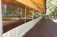 Āra paviljona terase